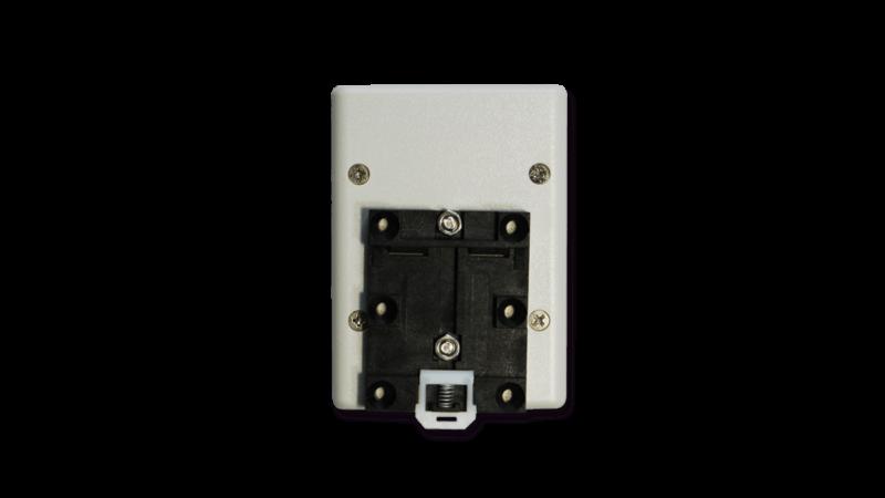 無線式信号入出力ユニット用DINレール取付具