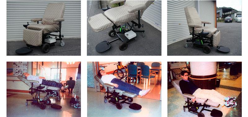 電動車椅子(タイプ2)使用例