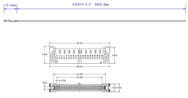 UIFB1P-3.0外形図